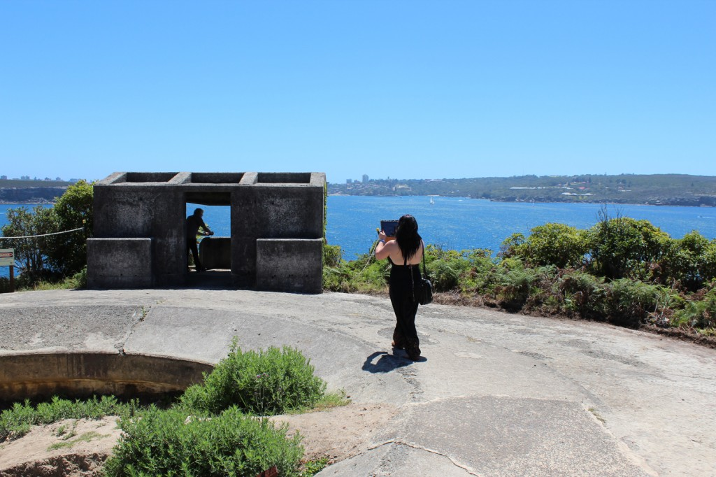 Notes for Walking at Middle Head. Megan Heyward 2013